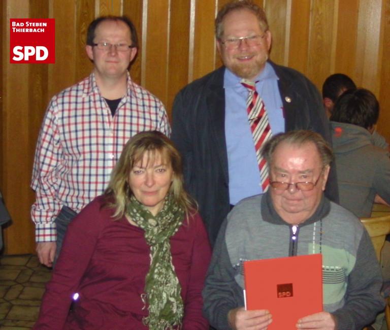 40 Jahre SPD-Mitglied